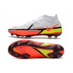 2015 Hommes Chaussures Nike Mercurial Superfly IV FG Vert Rouge