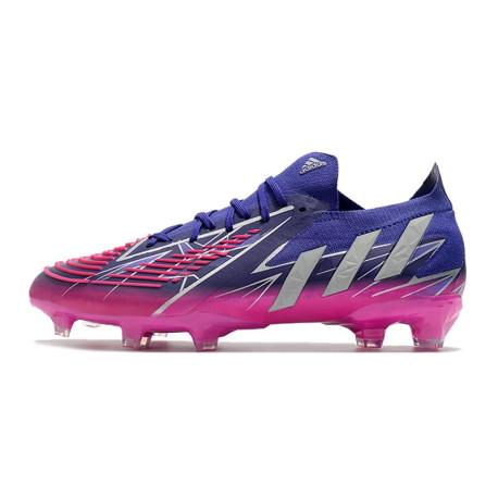Nouvelle Nike Mercurial Superfly 4 FG Pas Cher Violet Noir Blanc Multicolore