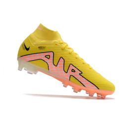 Chaussure de Football Nike Magista Obra FG Terrain Sec Chaussure Homme Beige Noir Volt