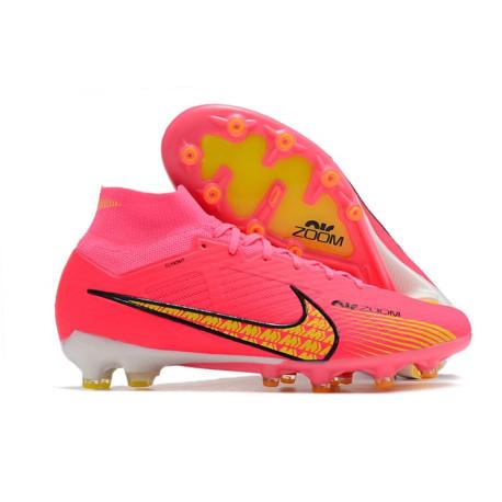 new concept b6539 b84d9 2015 Hommes Chaussures Nike Mercurial Superfly IV FG CR 501 Blanc Or Noir