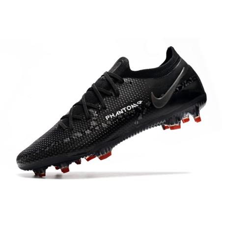buy online e4b66 dc046 Nike Magista Obra FG Chaussure de Football pour sol dur Pour Homme Noir  Rouge Blanc