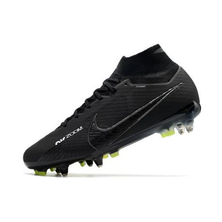 2016 Nike Crampons Foot Mercurial Vapor X FG Noir  Blanc