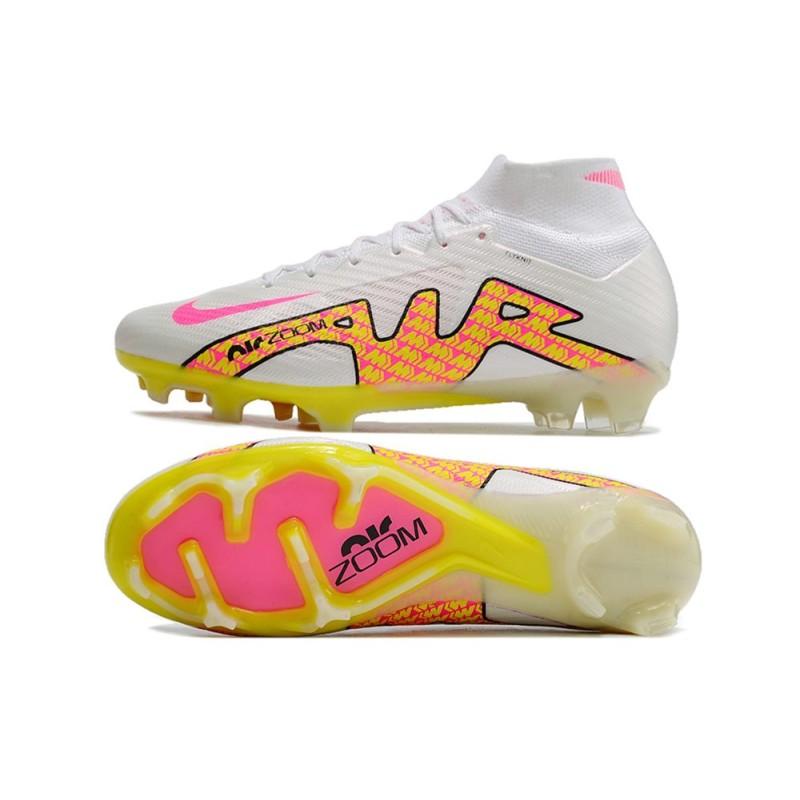 reputable site 3c492 f67b3 Nouvelles Crampons Foot Adidas Messi 15.1 FG Noir Vert Rouge Zoom. Précédent.  Suivant
