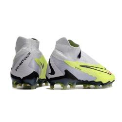 Nouveau Nike Mercurial Vapor XI CR FG Chaussures de football Argenté Noir Vert