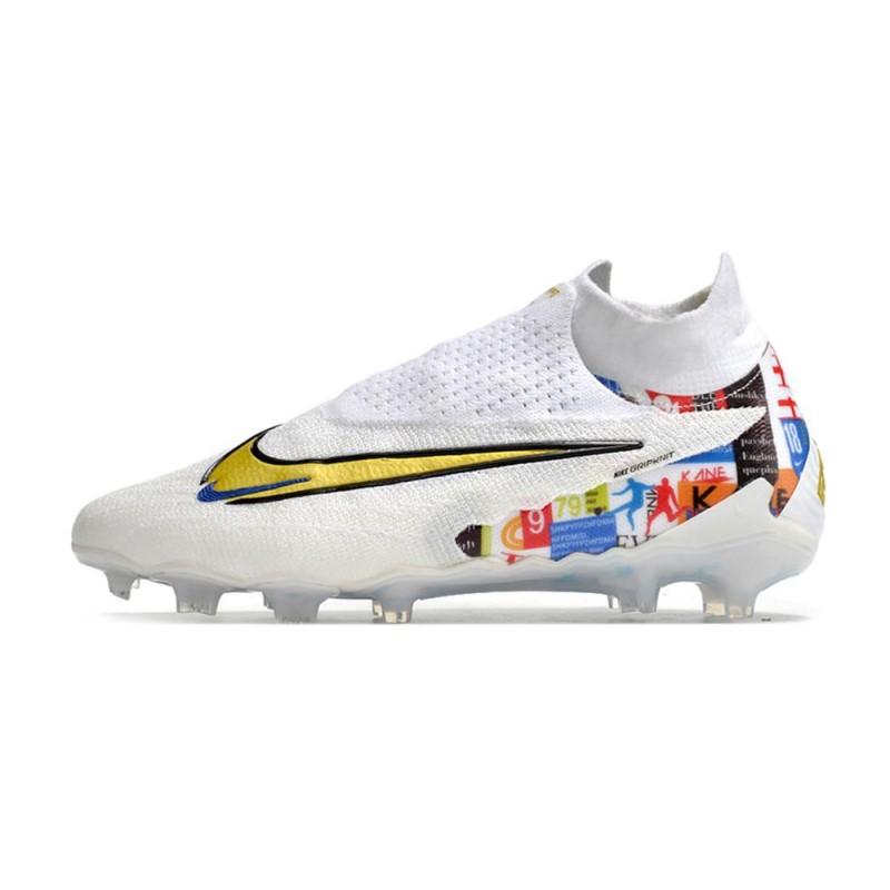 buy popular 893d9 028df 2016 Nike Crampons Foot Mercurial Vapor X FG Batman   Clown Vert Rouge  Jaune Noir Zoom. Précédent. Suivant