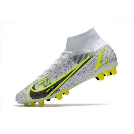 Nouvelle Nike Mercurial Vapor 10 FG Chaussures Hommes Rouge Jaune
