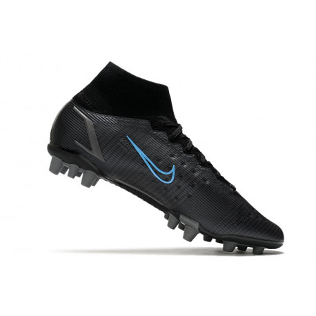 Nouveau Chaussure de Football Nike Mercurial Vapor X FG Blanc Orange