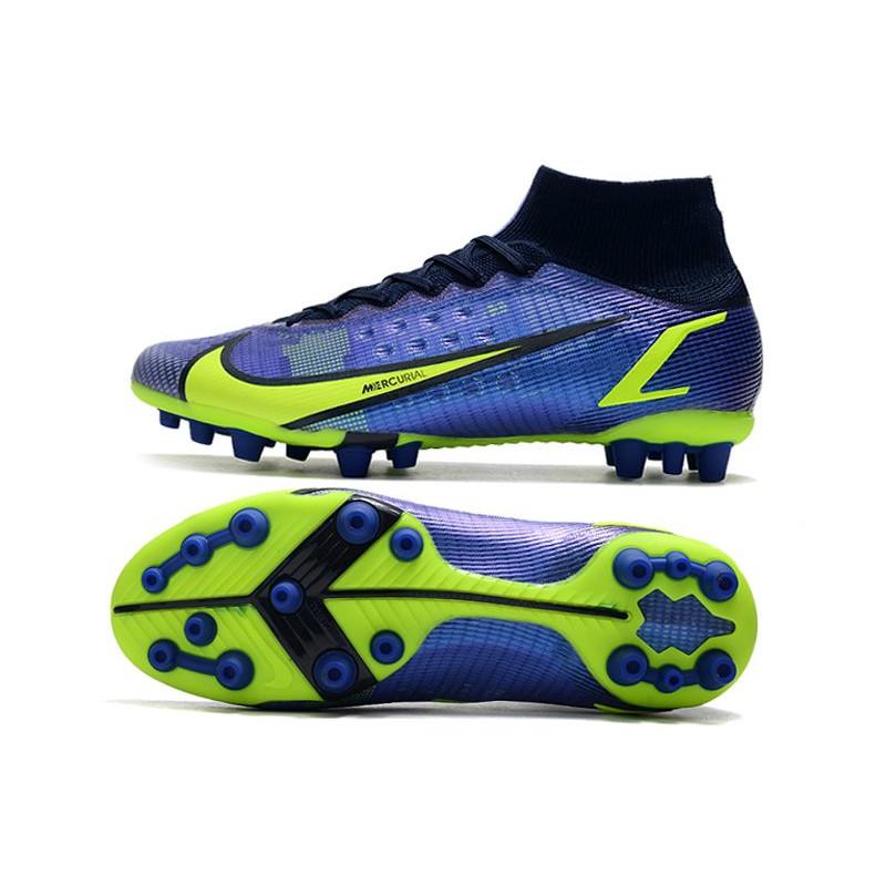 Nouvelle Nike Chaussures Mercurial Vapor 10 Fg Chaussures Nike Hommes Rouge Jaune 4de313