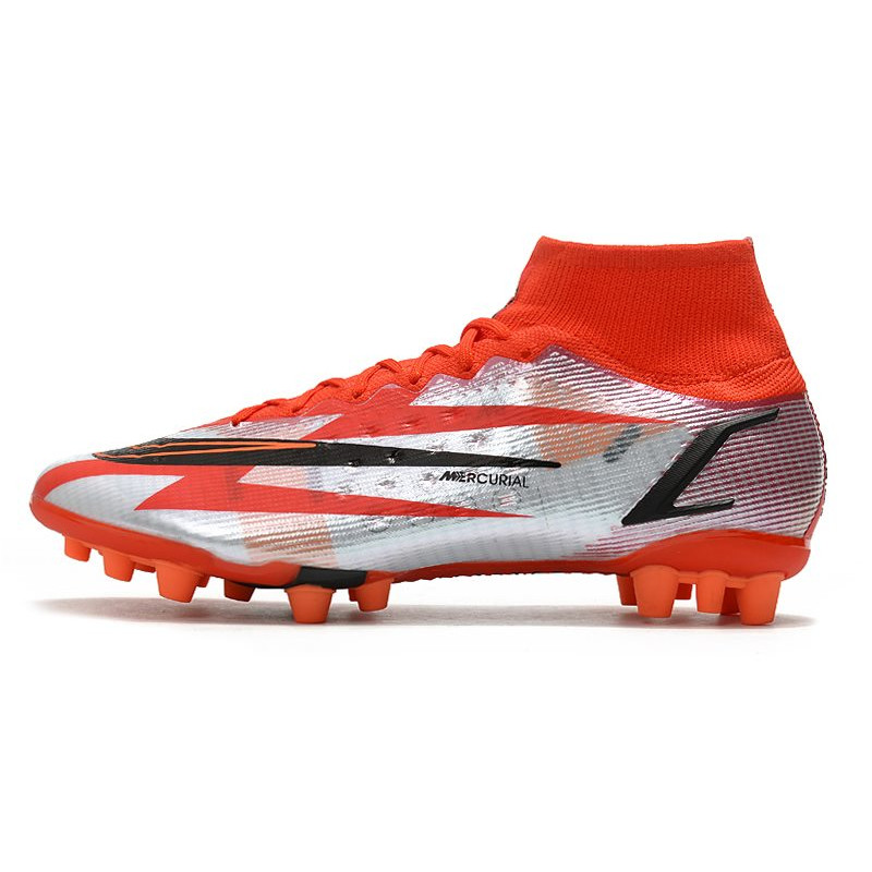 reputable site 76a3d e2af3 ... nouveau chaussure de football nike mercurial vapor x fg blanc orange