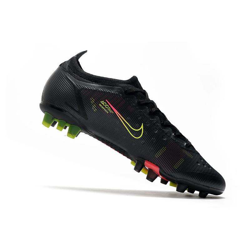 online store 4bd16 72ab5 Crampons Nike Mercurial Vapor 9 Pas Cher FG Tropical Pack Noir Orange Zoom.  Précédent. Suivant